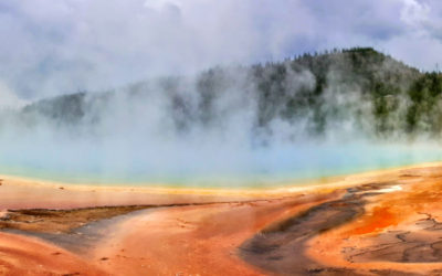 The Rainbow Waters of the Grand Prismatic Spring